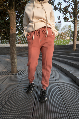 Коричневые спортивные штаны женские nadya