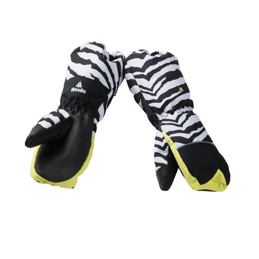 Варежки WeeDo Zebra (светло-полосатые)