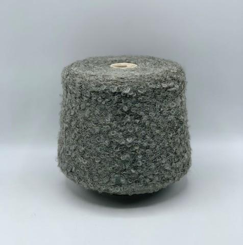 Filati BE.MI.VA (пр.Италия), art-MARION 300м/100гр, 30% мохер 30% альпака 24% вискоза 6% полиамид , цвет- Серо-зеленоватый ,арт.10196