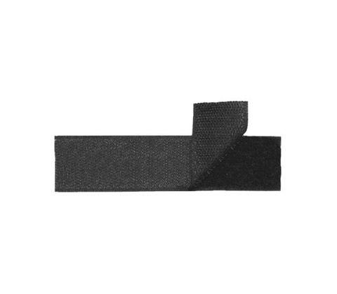 Контактная лента (липучка) для нагрудной нашивки (черная)
