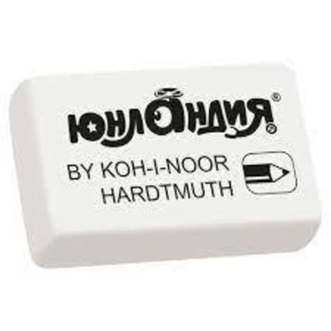 "Ластик ""Koh-I-Noor""  EXLUSIVE, 45x32x12мм, белый"