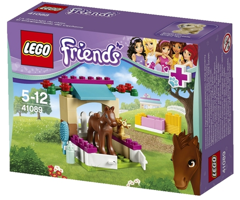 LEGO Friends: Жеребенок 41089 — Little Foal — Лего Френдз Друзья Подружки