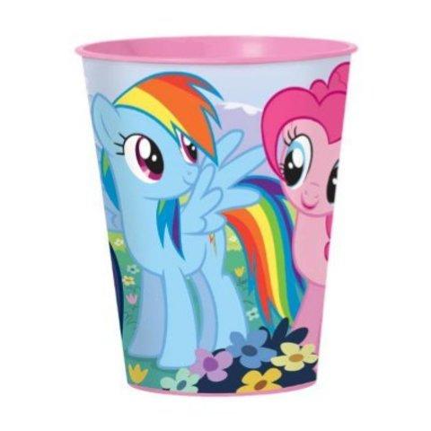 Стакан пласт My Little Pony 473мл/A