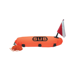 Torpedo Diving Marker Buoy, Reinfoced, ''Safe Dive'' with 20m rope
