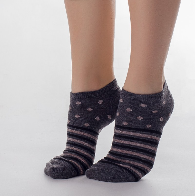 VN026 носки женские, ассортимент 35-41 (12шт.)