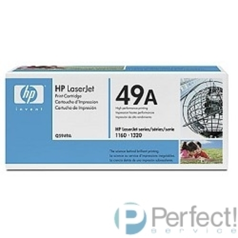 HP Q5949A Картридж ,Black{LaserJet 1160/1320, Black, (2500стр)}