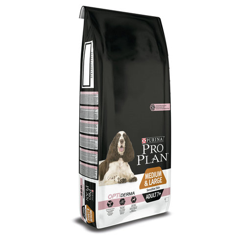 Pro Plan Medium & Large Adult 7+ Sensitive Skin 14 кг