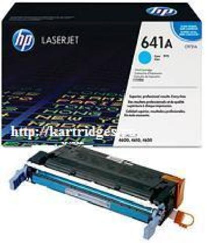 Картридж Hewlett-Packard (HP) C9721A №641A