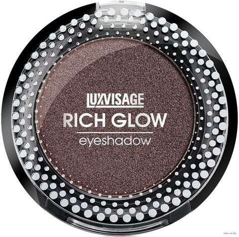 LuxVisage Тени компактные Rich Glow тон 11 sweet brownie 2г