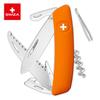Швейцарский нож SWIZA D05 Standard, 95 мм, 12 функций, оранжевый