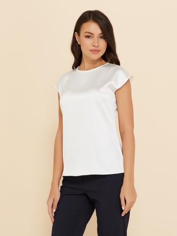 Блузка шелковая Noir