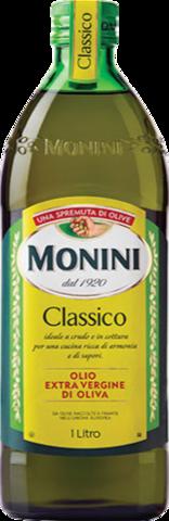 Monini Масло оливковое Classico, стеклянная бутылка, 1 л