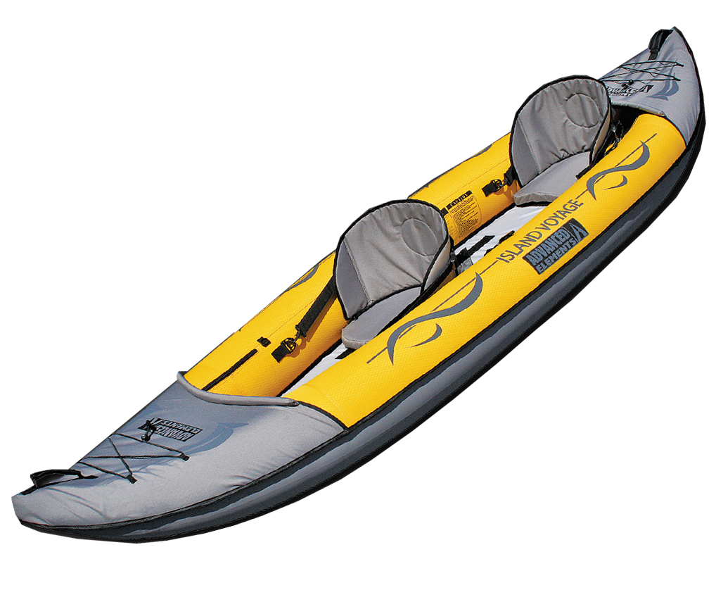 Recreational Island Voyage inflatable kayak, tandem