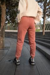 Коричневые спортивные штаны женские купить