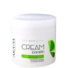 """ARAVIA Professional, Крем-парафин """"Натуральный"""" с молочным протеином, 300 мл"""