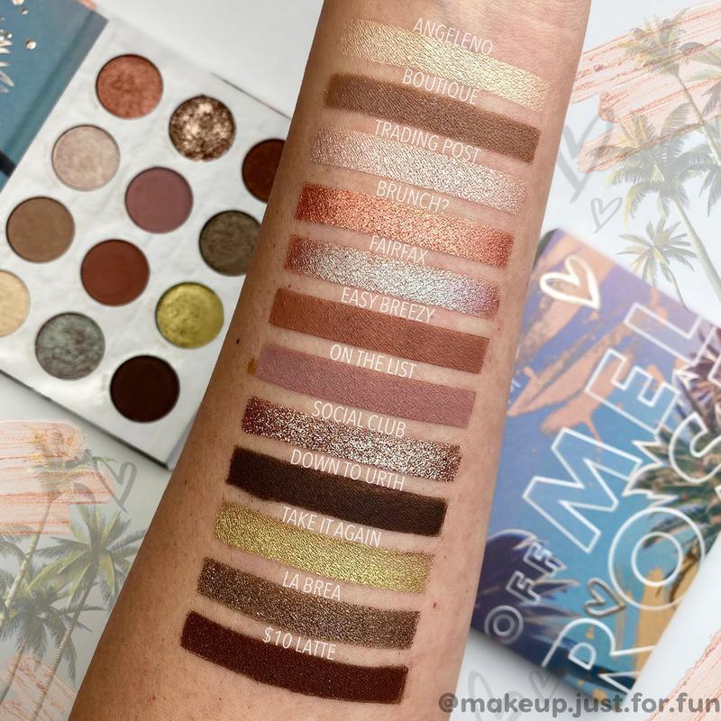 ColourPop Off Melrose shadow palette