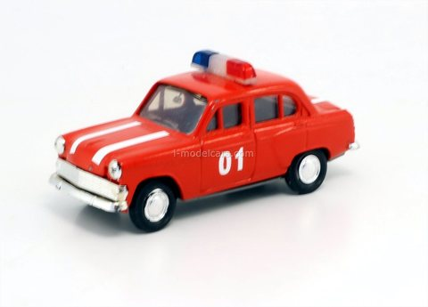Moskvich-403 firefighter (late release) Agat Mossar Tantal 1:43