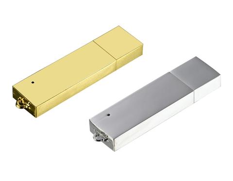 USB-флешка металлический брусокКопировать товар