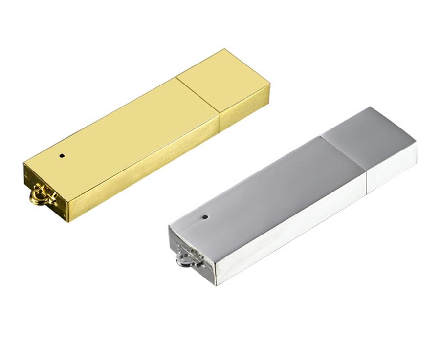 флешки под нанесение оптом. USB-флешка металлический брусок