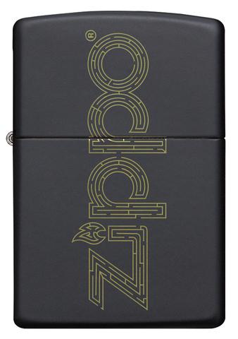 Зажигалка Zippo 49598 Black Matte
