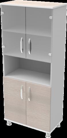 Шкаф медицинский общего назначения 2.01 тип 2 АйВуд Medical Office - фото