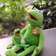 Мягкая игрушка и брелок Лягушонок Кермит из Маппет Шоу
