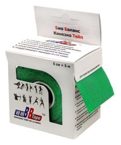 BBtape кинезио тейп 5см х 5м (зеленый)
