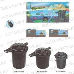 Напорный фильтр для пруда BOYU EFU 15000
