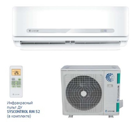 Systemair SYSPLIT WALL SMART 36 V3 HP Q