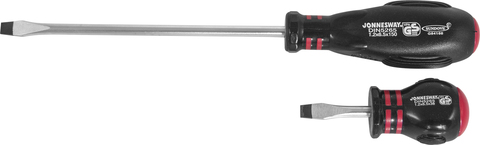 D03S480 Отвертка стержневая шлицевая HERCULES, SL4х80 мм