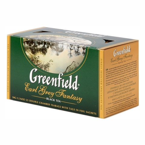 Чай GREENFIELD Earl Grey Fantasy 25*2 гр п/пак РОССИЯ