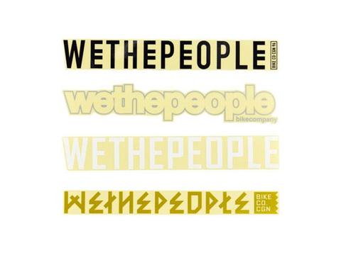 Набор стикеров WeThePeople 4Big