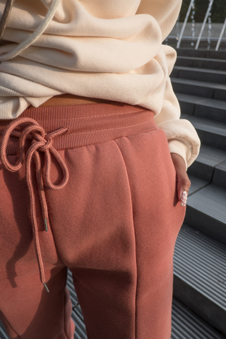 Коричневые спортивные штаны женские недорого
