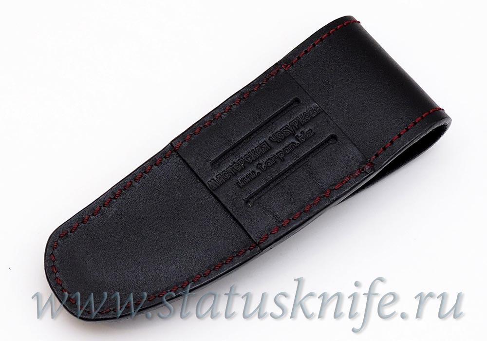 Чехол Чебуркова кожаный для ножа Ворон - фотография