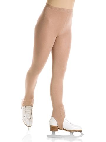 Лосины под ботинок (телесные) IceDress