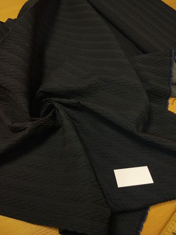 Шерсть с объемной вышивкой на флизелине.