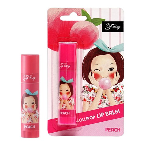 Fascy Lollipop PEACH Lip Balm персиковый бальзам для губ.