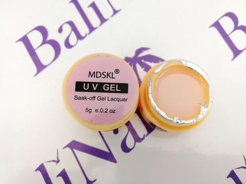 Гель моделирующий эластичный камуфляжный светло-розовый (05), 5 грамм