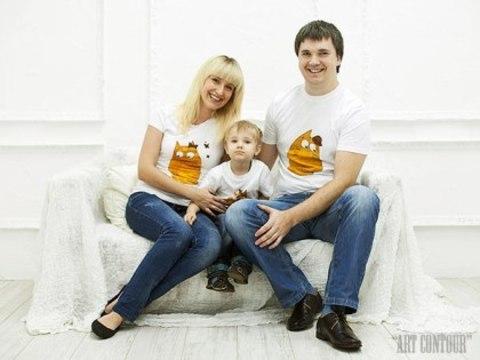 Набор футболок для 3-х человек