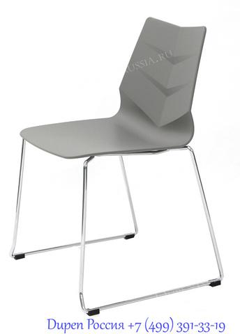Стул LEAF-02 серый