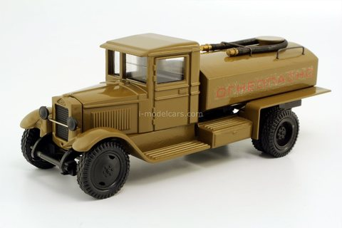 ZIS-5 tank fuel truck (Flammable) brown LOMO-AVM 1:43