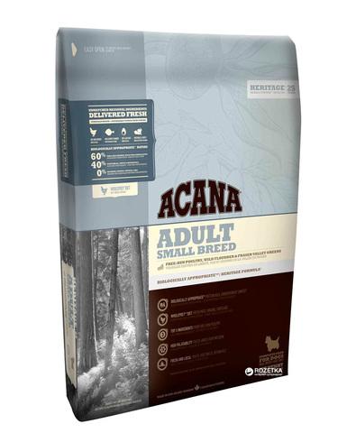 Acana Heritage Adult Small Breed сухой корм для собак мелких пород 2 кг