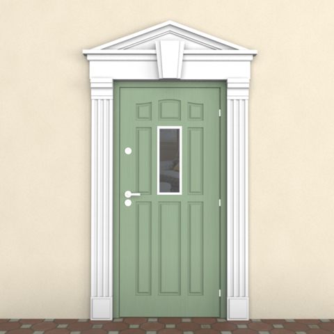 обрамление двери