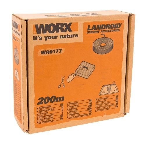 200м Ограничительный провод для робота газонокосилки Landroid