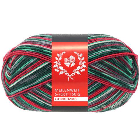 Lana Grossa Meilenweit 6-ply Christmas (9515)