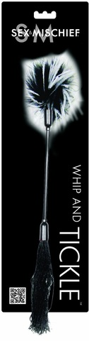Двусторонний стек Whipper Tickler, 24 см - Black & White