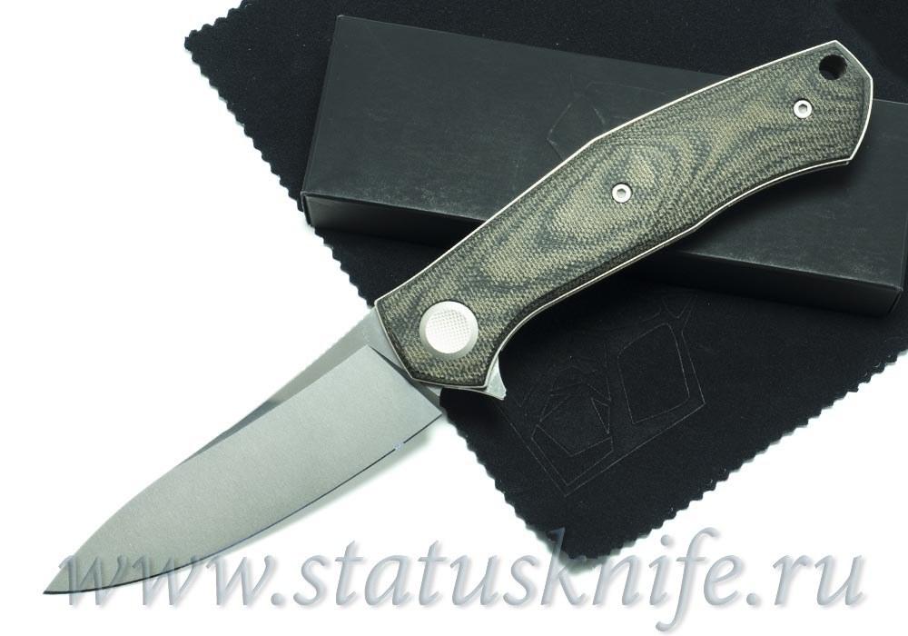 Нож Широгоров Cannabis TNK M390 SIDIS дизайн