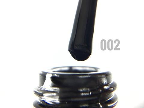 Гель-лак ONENAIL 002 черный 15мл