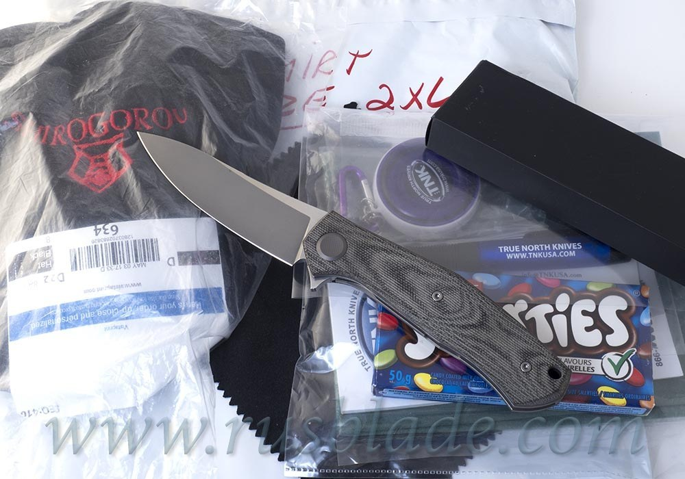 CUSTOM Shirogorov FULL PACK Cannabis TNK M390 MRBS - фотография