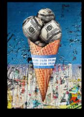 """Постер """"Долларовое мороженое"""""""